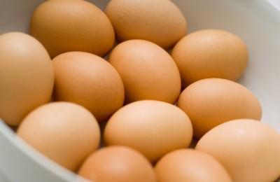 Eggs in bowl
